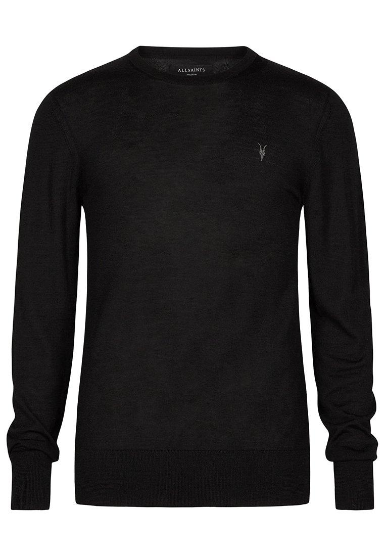 AllSaints Sweter - black
