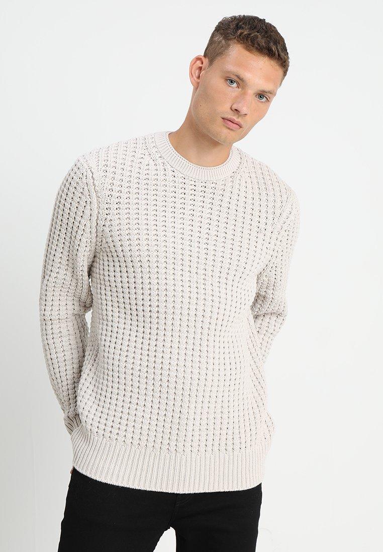 AllSaints - MEDAR CREW - Strickpullover - stone white