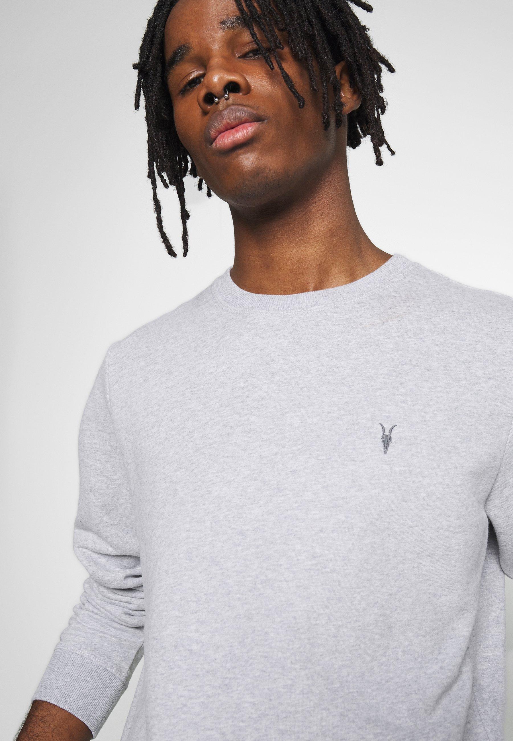 Allsaints Raven Crew - Sweatshirt Grey Marl