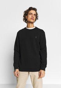 AllSaints - RAVEN CREW - Sweatshirts - black - 0