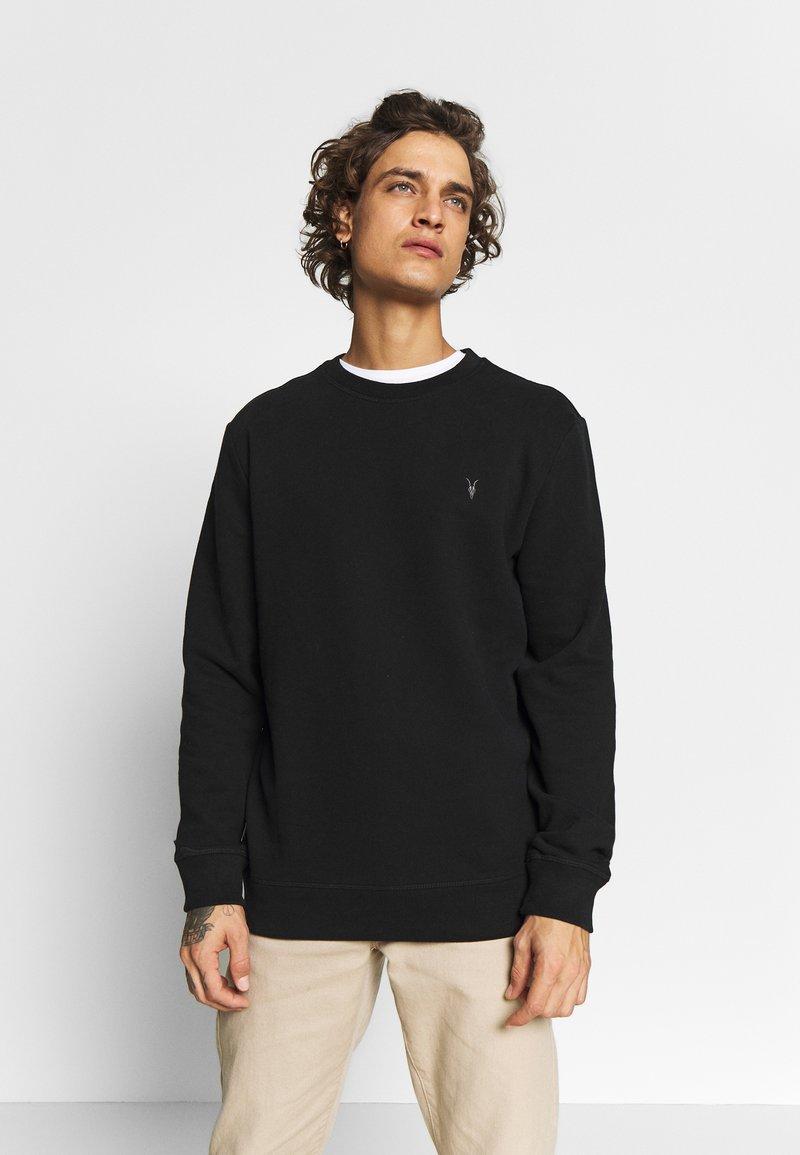 AllSaints - RAVEN CREW - Sweatshirts - black