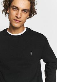 AllSaints - RAVEN CREW - Sweatshirts - black - 5