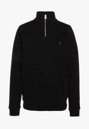 RAVEN HALF ZIP FUNNEL - Sweatshirt - jet black