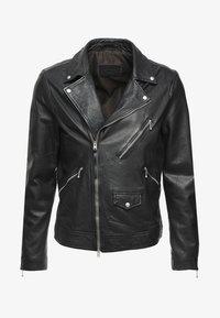 AllSaints - HOLT BIKER - Leather jacket - black - 4