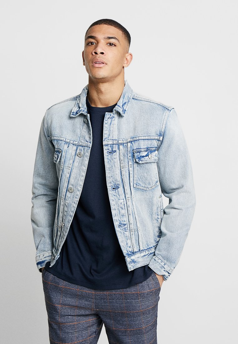 AllSaints - IMOKU JACKET - Veste en jean - light indigo blue