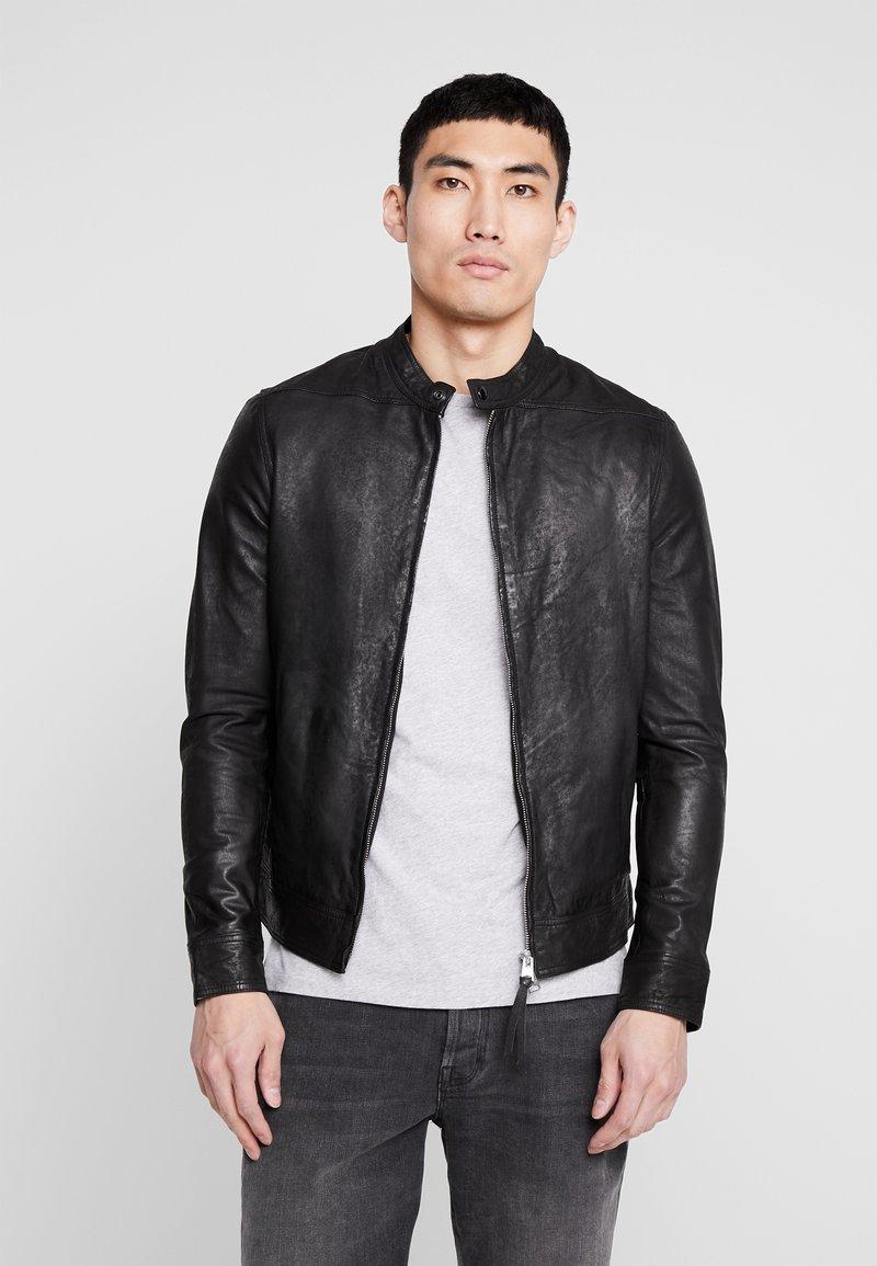 AllSaints - COLT JACKET - Leather jacket - black