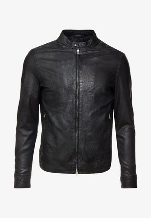 COLT JACKET - Leather jacket - black