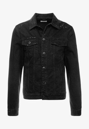 BLANK JACKET - Jeansjakke - black