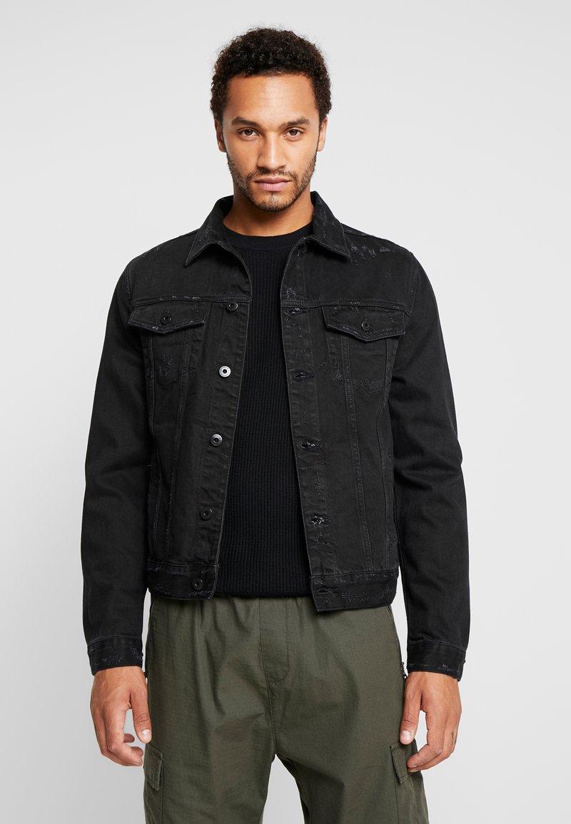 AllSaints - BLANK JACKET - Veste en jean - black