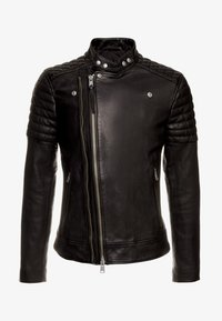 AllSaints - RIGBY BIKER - Leren jas - black - 3