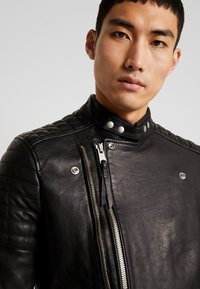 AllSaints - RIGBY BIKER - Leren jas - black - 4