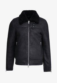 AllSaints - ESTORIA JACKET - Veste en cuir - black - 4