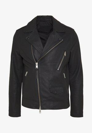 BLOC BIKER - Kožená bunda - black