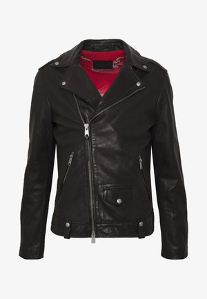 HEDWORTH BIKER - Leren jas - black