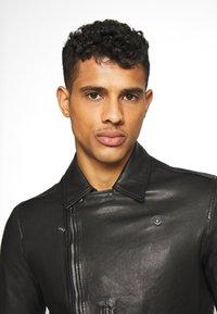 AllSaints - BONDI BIKER - Leather jacket - black - 3