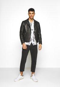 AllSaints - BONDI BIKER - Leather jacket - black - 1