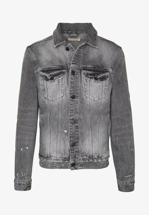 BRAMHAM JACKET - Denim jacket - washed black