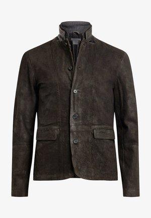 Veste en cuir - grey