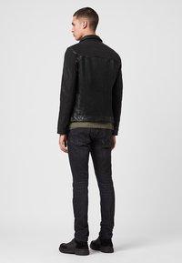 AllSaints - Leren jas - black - 2