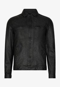 AllSaints - Leren jas - black - 3
