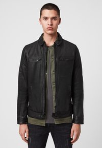 AllSaints - Leren jas - black - 0
