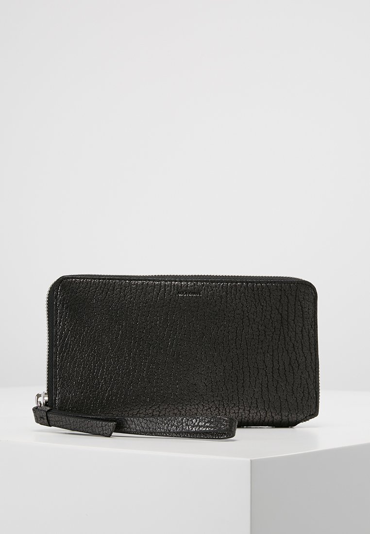 AllSaints - FETCH PHONE WRISTLET - Portefeuille - gunmetal grey