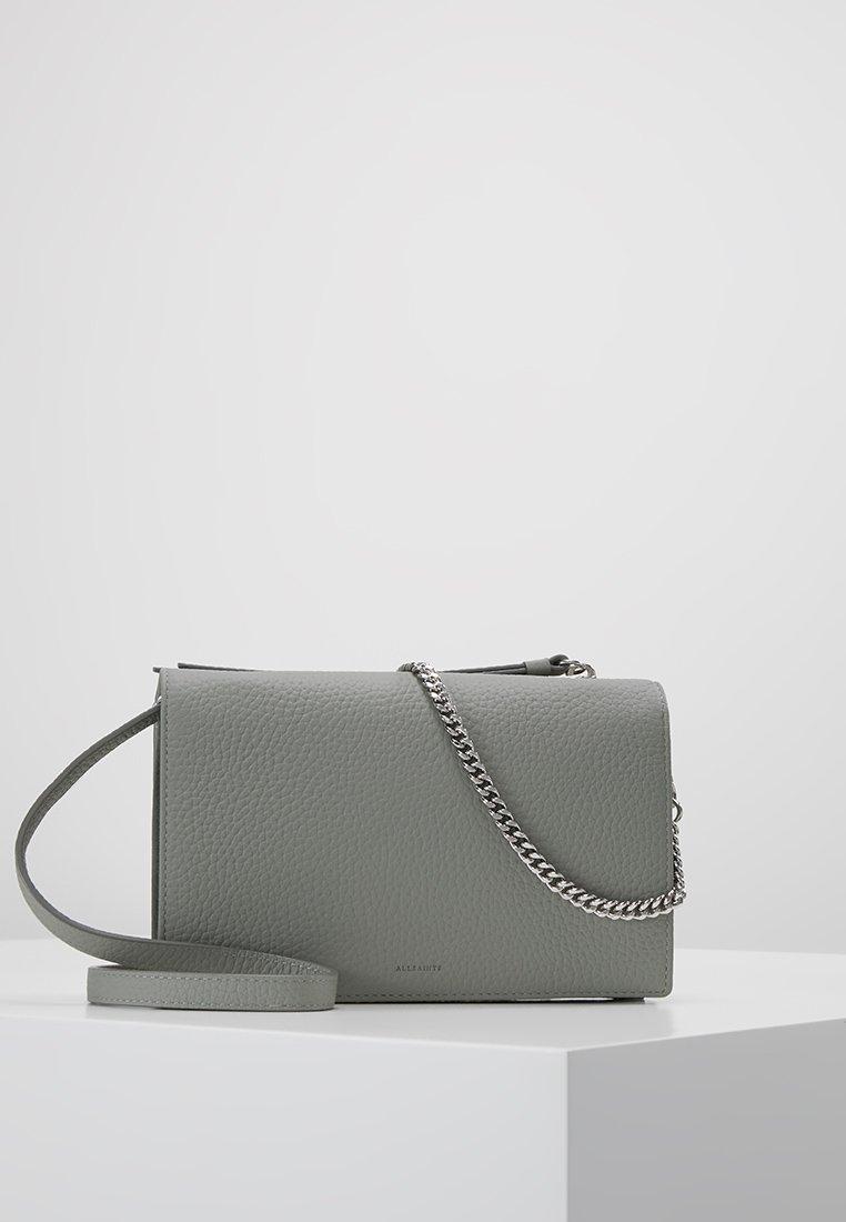 AllSaints - FETCH CHAIN - Across body bag - blue grey