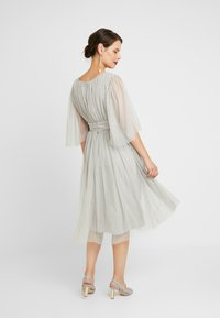 Anaya with love Maternity - CAPE SLEEVE WITH SATIN WAISTBAND - Occasion wear - silver - 3