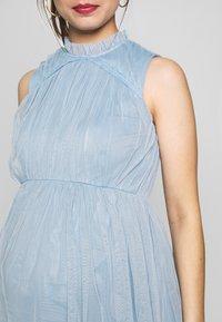 Anaya with love Maternity - HIGH NECK MAXI DRESS WITH TIERED SKIRT - Vestito estivo - cornflower blue - 5