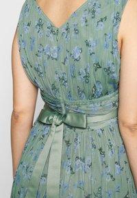Anaya with love Maternity - SLEEVELESS V NECK MAXI DRESS - Vestito estivo - green - 4