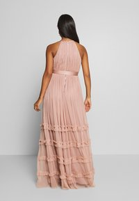 Anaya with love Maternity - HALTER NECK MAXI DRESS WITH RUFFLE DETAIL SKIRT - Iltapuku - pearl blush - 2