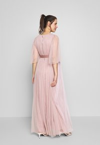 Anaya with love Maternity - WRAP CONTRAST MAXI WITH FLUTTER SLEEVES - Sukienka letnia - orchid ice/frosted pink - 2