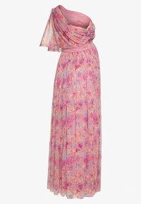 Anaya with love Maternity - ONE SHOULDER DRESS WITH FLUTTER SLEEVE - Sukienka letnia - pink - 1