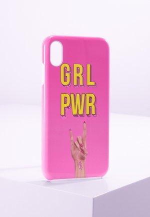 iPhone XS MAX - Mobiltasker - pink