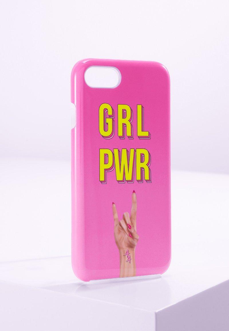 Antwerp Avenue - IPHONE 6/7/8 - Étui à portable - pink yellow