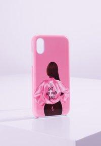 Antwerp Avenue - IPHONE X/XS - Étui à portable - pink/black - 0