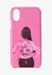 Antwerp Avenue - IPHONE X/XS - Étui à portable - pink/black - 1
