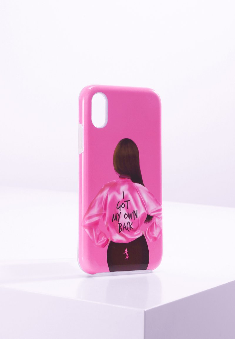 Antwerp Avenue - IPHONE XR - Telefoonhoesje - pink/black