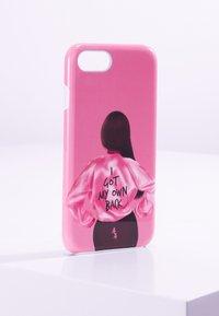 Antwerp Avenue - iPhone 6/7/8 - Étui à portable - pink/black - 0