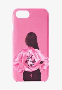 Antwerp Avenue - iPhone 6/7/8 - Étui à portable - pink/black - 1