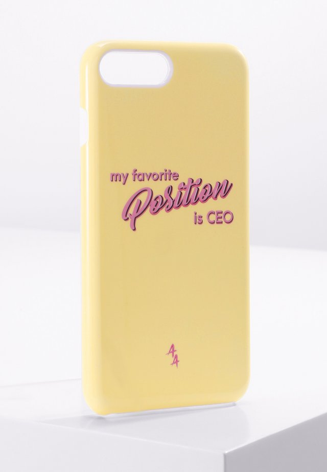 iPhone 6/7/8 PLUS - Telefoonhoesje - yellow/pink