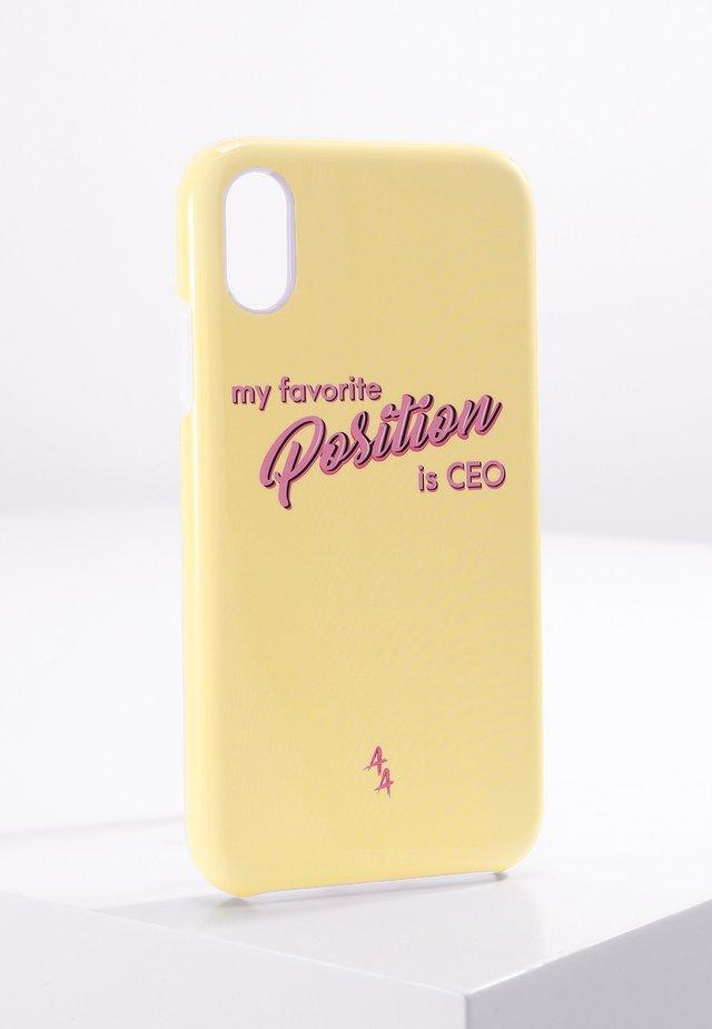 iPhone XR - Telefoonhoesje - yellow/pink