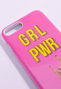 Antwerp Avenue - iPhone 6/7/8 PLUS - Étui à portable - pink/yellow - 3