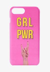 Antwerp Avenue - iPhone 6/7/8 PLUS - Étui à portable - pink/yellow - 1