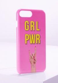 Antwerp Avenue - iPhone 6/7/8 PLUS - Étui à portable - pink/yellow - 0