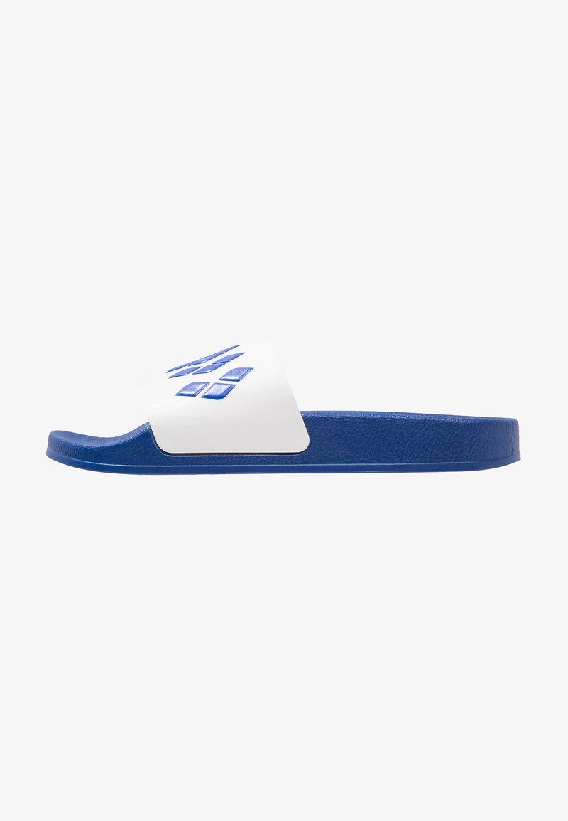 Arena - TEAM STRIPE SLIDE - Sandales de bain - blue/white