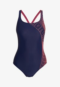 Arena - ALTAIR SWIM PRO ONE PIECE SWIMSUIT - Plavky - navy/shiny pink - 4