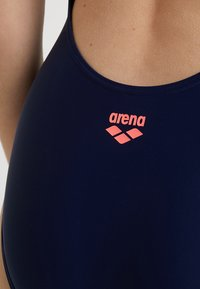 Arena - ALTAIR SWIM PRO ONE PIECE SWIMSUIT - Plavky - navy/shiny pink - 5