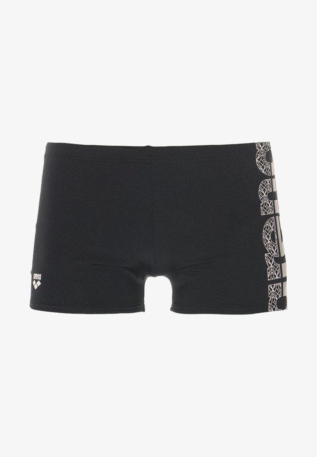EQUILIBRIUM - Badehose Pants - black/white