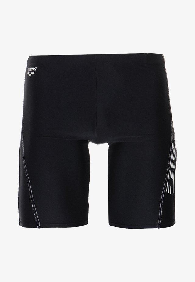 BYOR EVO JAMMER - Swimming trunks - black/white
